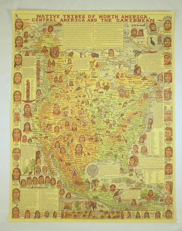 Nakoma Indian Tribe Poster