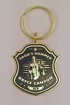 Bryce Canyon National Park Badge Keychain