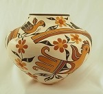 Theresa Salvador Polychrome Pot