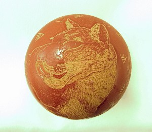 Pho-Sa-We Mountain Lion Pot