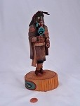 Long Hair Kachina Doll