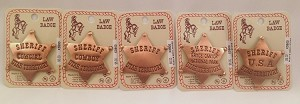 Copper Law Badges