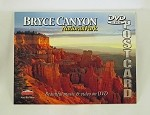 Bryce Canyon National Park DVD Postcard