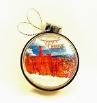 BCNP Snow Globe Christmas Ornament