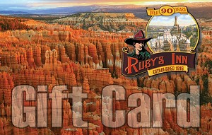 $500 Gift Card to Ruby's Inn