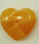 Honey Calcite Heart - 2.5