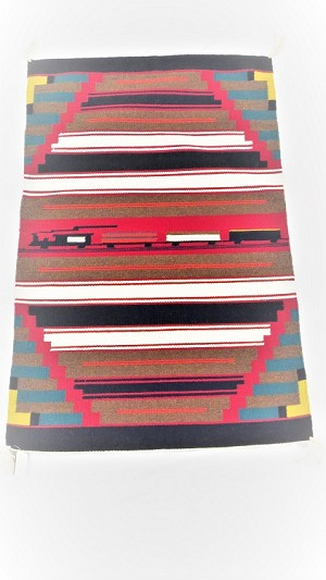 Navajo Rug by weaver James Joe