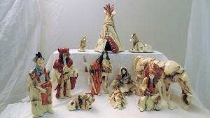 Horse Hair Nativity