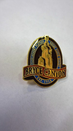 Bryce Canyon National Park Vertical Oval Pin
