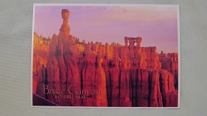 Bryce Canyon National Park Thor's Hammer Post Card