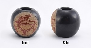 Joseph Lonewolf Peyote Bird Pot